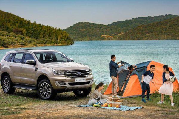 Thuê xe đi cắm trại